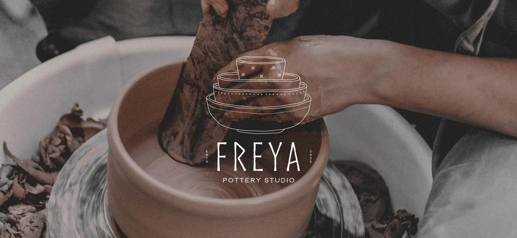 pottery studio branding